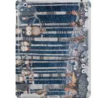 First snow in the Forest iPad Case/Skin