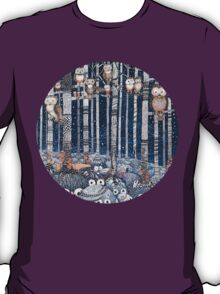 First snow in the Forest T-Shirt