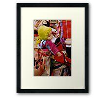 Flower Baby, Viêt Nam Framed Print