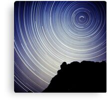 Circumpolar time travel Canvas Print