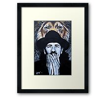 Spirit of Santana Framed Print