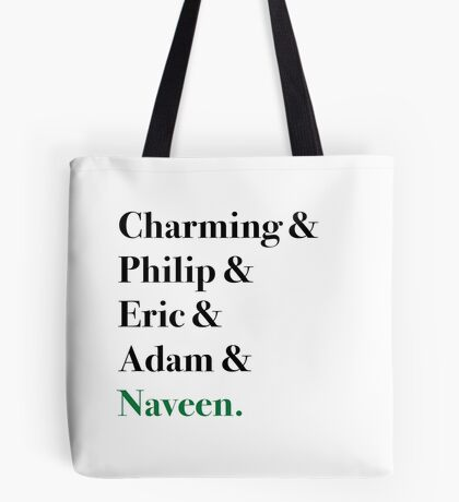 True Disney Princes Tote Bag