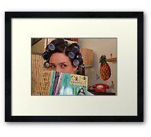 It's Tiki Time Framed Print
