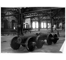old factory Poster