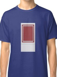 Glitch Homes Wallpaper red molding wall single Classic T-Shirt