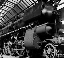 old locomotive by iristudiophoto