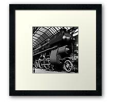 old locomotive Framed Print