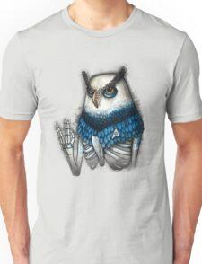 Spock Owl Shirt (for light shirts) Unisex T-Shirt