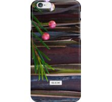 Bark and buds. iPhone Case/Skin