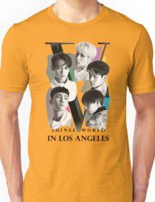 SHINEE WORLD V TOUR USA LOS ANGELES T-SHIRT w/o DATE Unisex T-Shirt