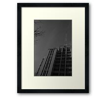 Russell St Police Station Framed Print