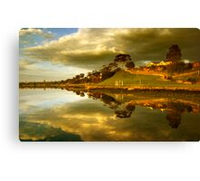 Rippleside Reflected Canvas Print