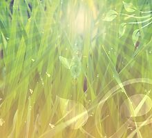 Abstract grass background by AnnArtshock