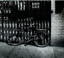 Black & White Bicycle by boozeox