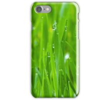 Fresh Green Grass 3 iPhone Case/Skin