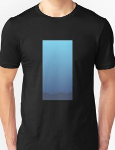 Glitch Homes Wallpaper Sea Wall T-Shirt