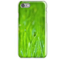 Fresh Green Grass 4 iPhone Case/Skin