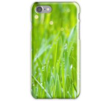 Fresh Green Grass 5 iPhone Case/Skin