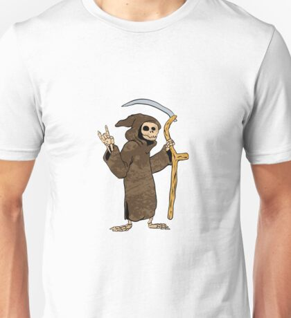 cartoon grim reaper. Unisex T-Shirt