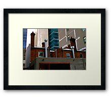 Juxtaposition : Contemporary Melbourne Architecture Framed Print