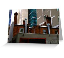 Juxtaposition : Contemporary Melbourne Architecture Greeting Card