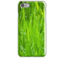 Fresh Green Grass 7 iPhone Case/Skin