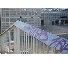 Words are Everything: Contemporary Urban Melbourne Graffiti Tags Photographic Print