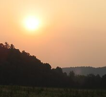 Cades cove sunset by Tiffany Sanders
