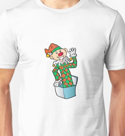 Cartoon Jack In The Box Unisex T-Shirt