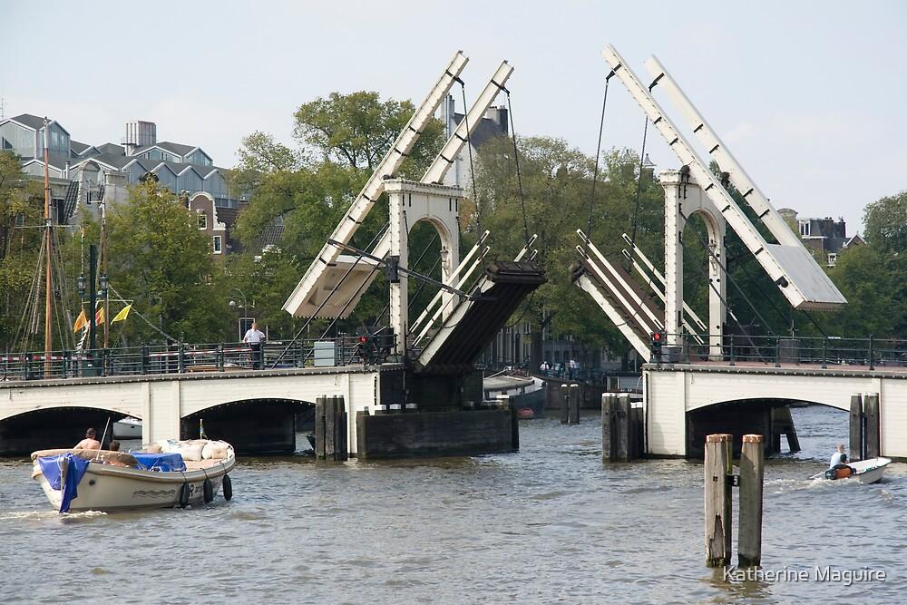 The open bridge by Katherine Maguire