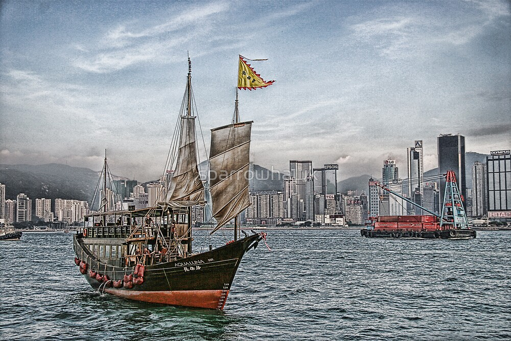 Hong Kong - Harbour by sparrowhawk