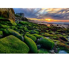 Obstacles - La Jolla, CA Photographic Print