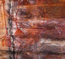 Ubirr Rock Art Sticker