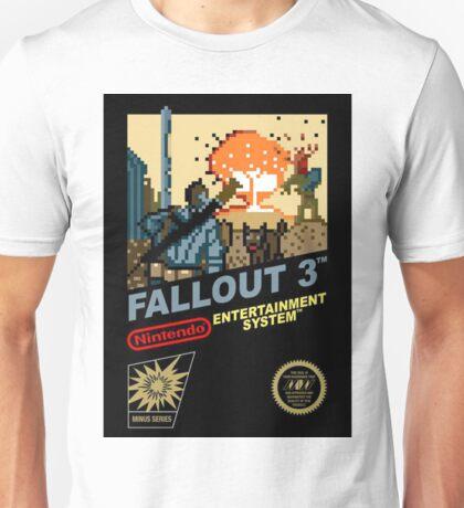 Fallout 3 nes remake Unisex T-Shirt