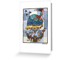 Windje van zee Greeting Card