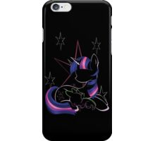 Twilight Sparkle Contour iPhone Case/Skin