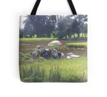 The Rice Harvest Tote Bag