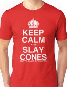 Miata Club of Hawaii KEEP CALM Slay Cones WHT Unisex T-Shirt