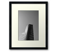 Looking Up v11 - Melbourne Central Framed Print