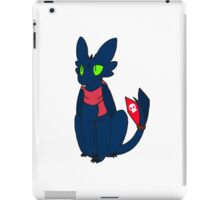 Scarved Toothless iPad Case/Skin