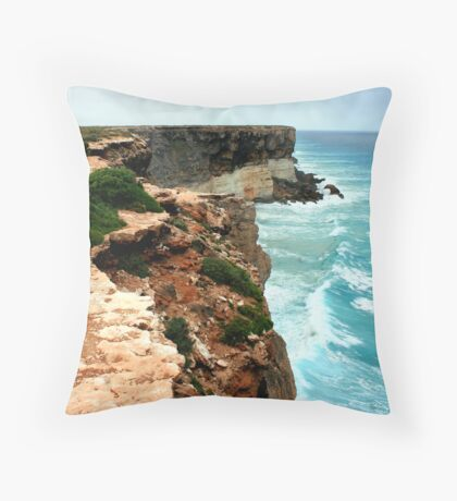 At Worlds End. Throw Pillow
