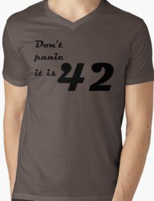 hitchhiker's guide to the galaxy Mens V-Neck T-Shirt