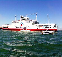 Red Funnel by Kirsty Harper