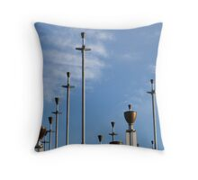 the bells Throw Pillow