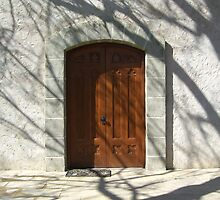 Church Door by OHenrys