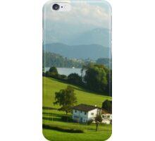 Somewhere in Switzerland iPhone Case/Skin