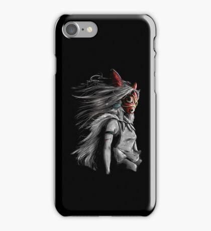 The Fury of the Wolf Warrior iPhone Case/Skin
