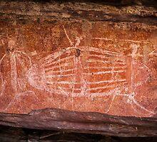 Ubirr Rock Art by Russell Charters