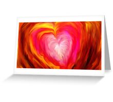 love, romance, valentines day, valentine, abstract, geometric Greeting Card