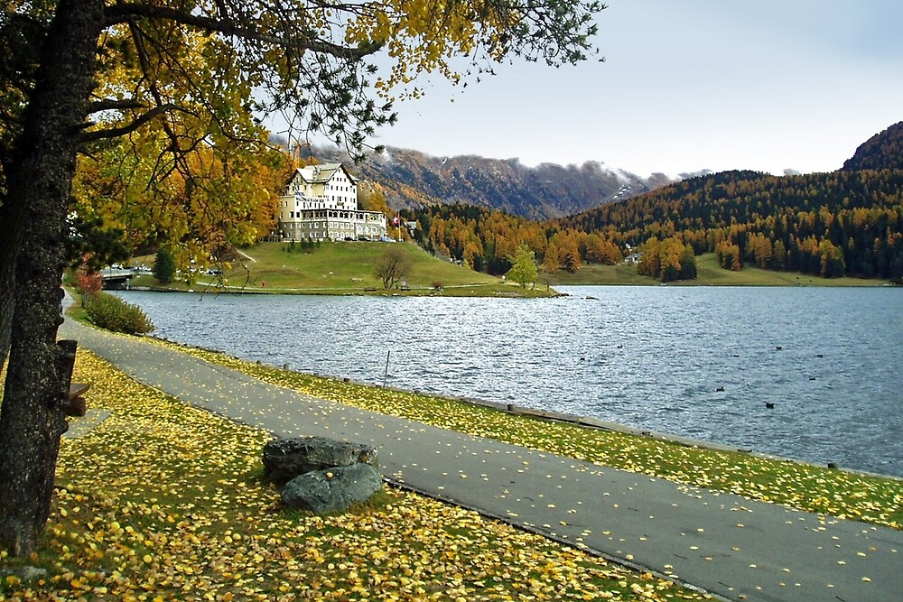 Sankt Moritz - Switzerland by Arie Koene